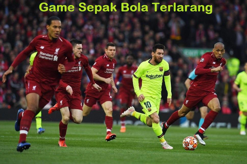 Game Sepak Bola Terlarang